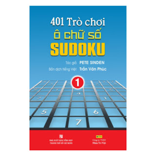 401 Trò Chơi Ô Chữ Số Sudoku - Tập 1 ebook PDF-EPUB-AWZ3-PRC-MOBI