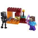 Minecraft The Nether Duel Bag Set