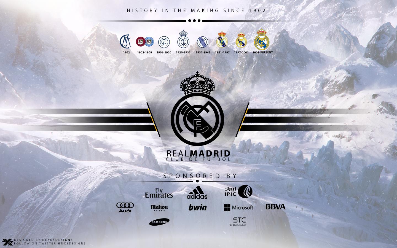 Real madrid logo wallpaper i catatan madridista