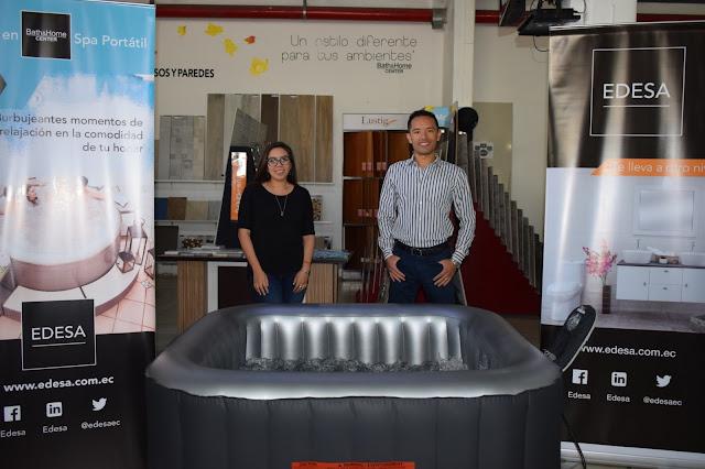 Edesa presenta al mercado ecuatoriano sus nuevos spa portátiles