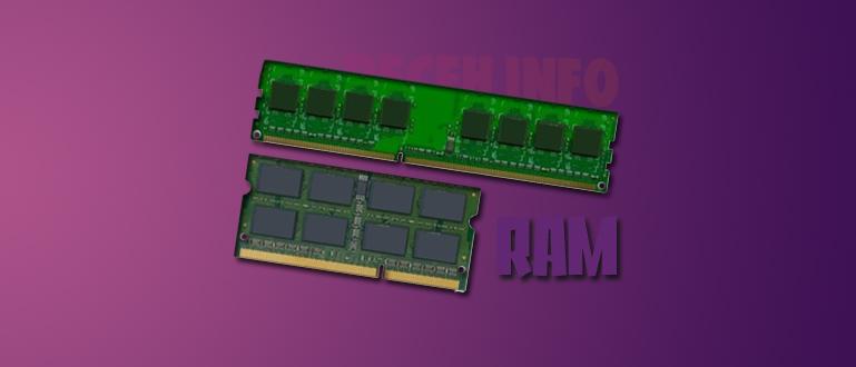 Apa itu RAM DIMM dan SO-DIMM