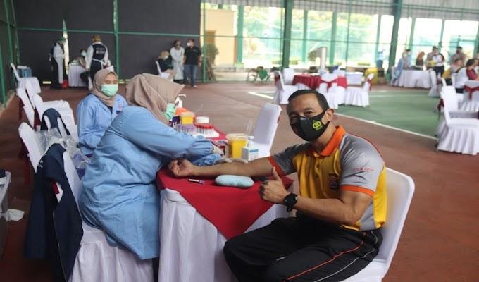 Biddokes Polda Banten cek Kesehatan Berkala Kapolda, Para PJU dan Anggota