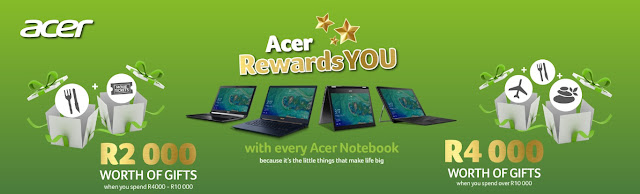 Choose @AcerAfrica This Festive Season & Get Rewarded #AcerForYou #ShopAcer