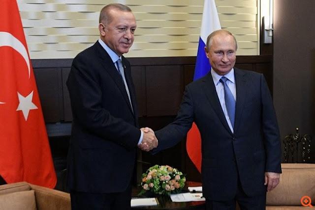 Τα 10 σημεία της συμφωνίας Πούτιν - Ερντογάν