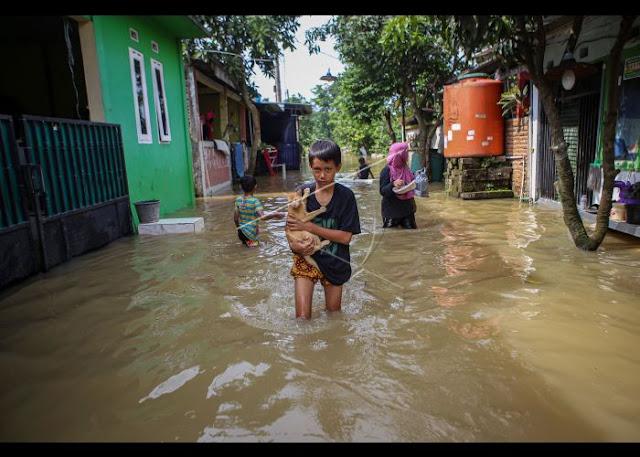 BMKG Ingatkan Status Siaga Banjir Bandang untuk 4 Provinsi di Pulau Jawa
