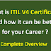ITIL V4 Certification Details and Its Importance for Professionals