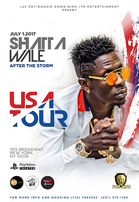 "Shatta Wale To Kick-Start His ""After The Storm"" Album Tour In America"