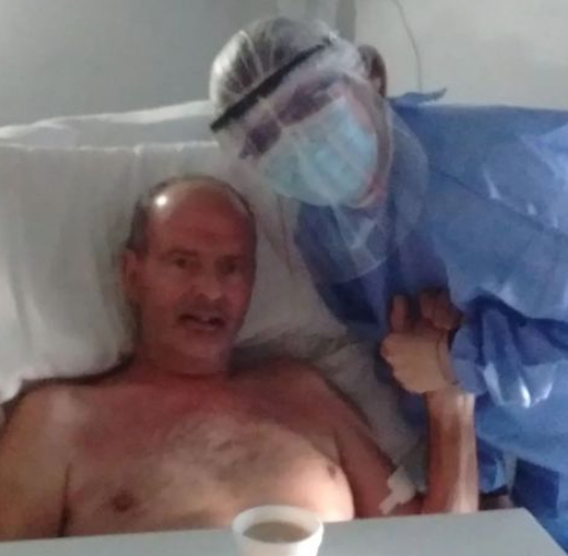 Man who was declared dead 'for minutes' after being hospitalised for Covid, says what you see after death 'not what you think'