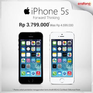 iPhone 5S Hanya Rp 3 jutaan Promo Erafone Online