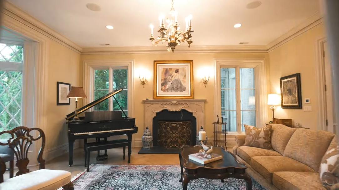 56 Interior Design Photos vs. 1 Alford Dr, Saddle River, NJ Luxury Mansion Tour