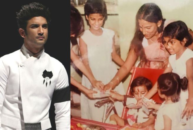 Shweta, sister of Sushant Singh Rajput has shared her sobering pictures