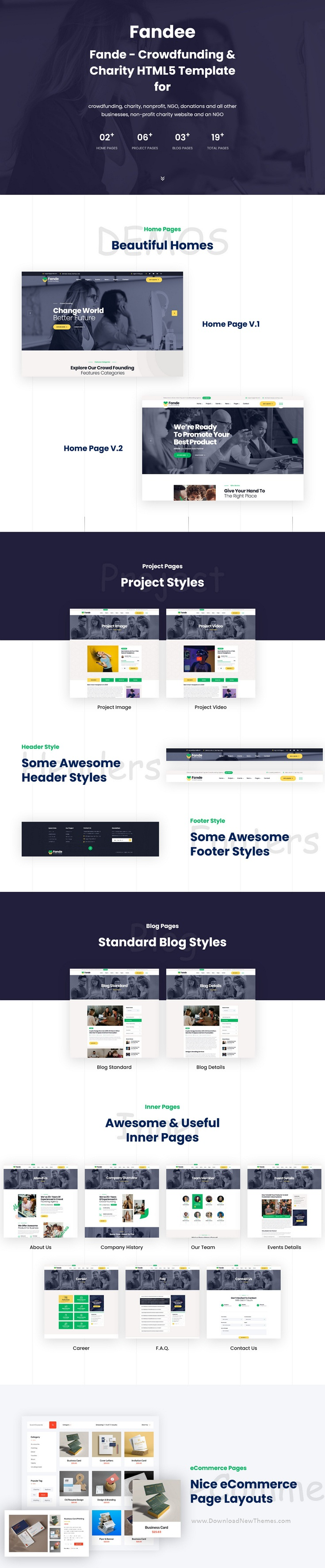 Crowdfunding and Charity HTML5 Template