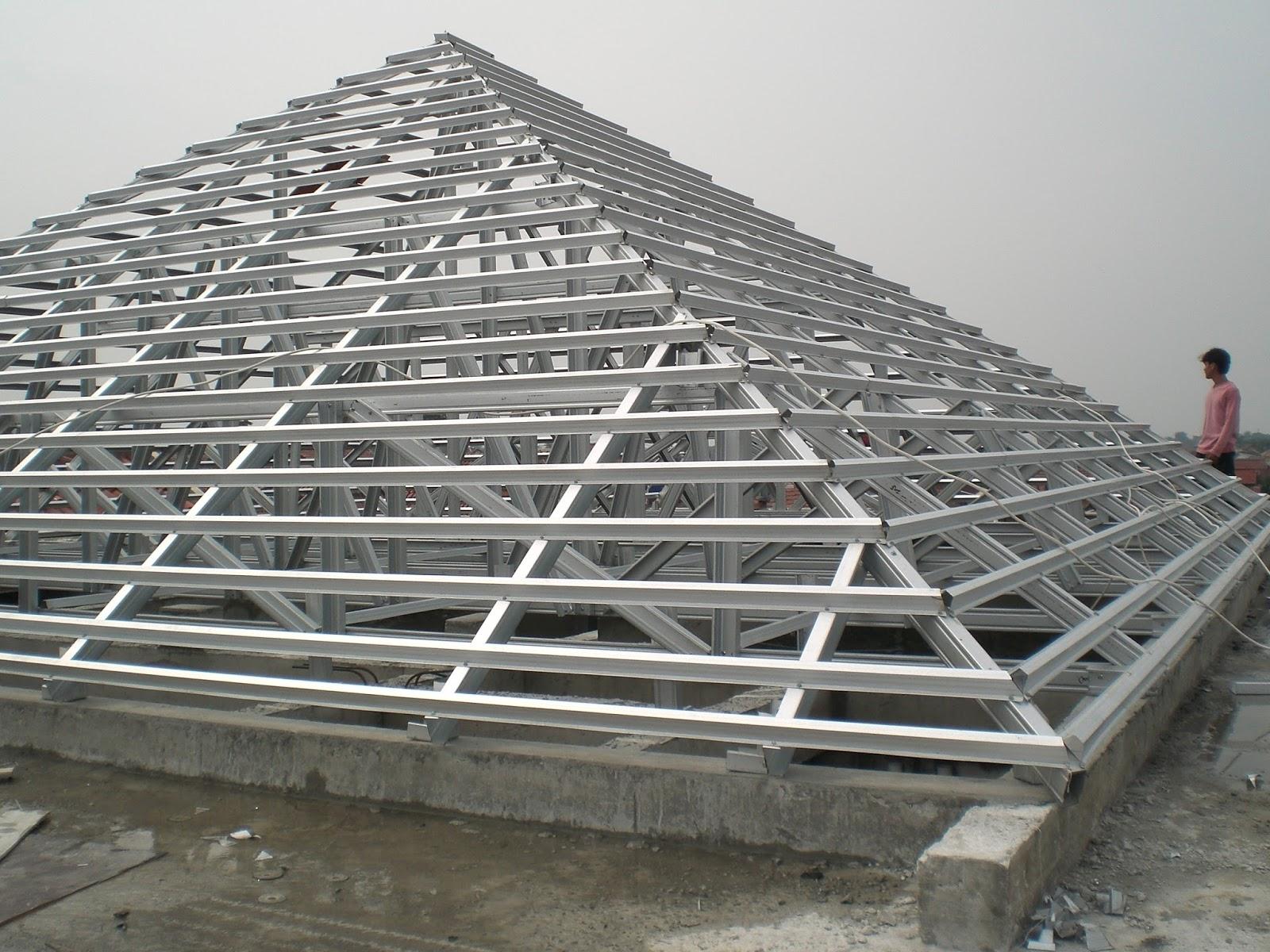 Baja Ringan Cnp Dunia Besi Dan Konstruksi Cara Pemasangan Rangka Atap