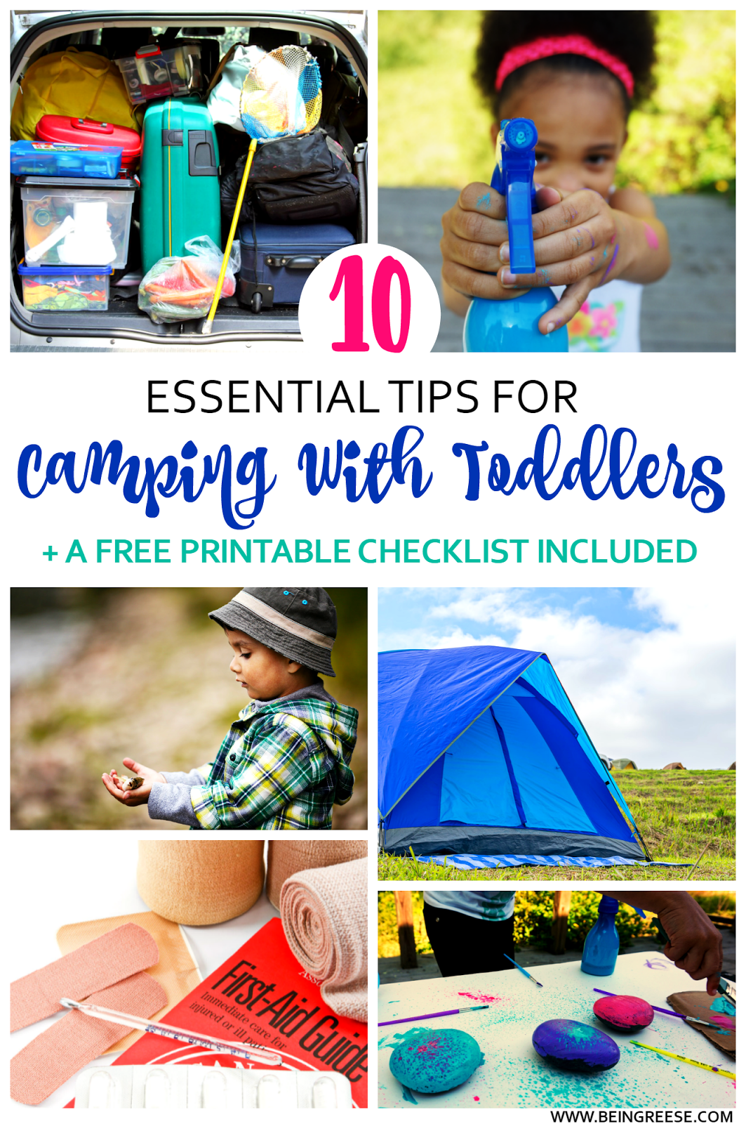 Toddler camping ideas