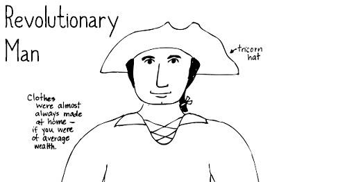 Paper Dali: American Revolution: Man