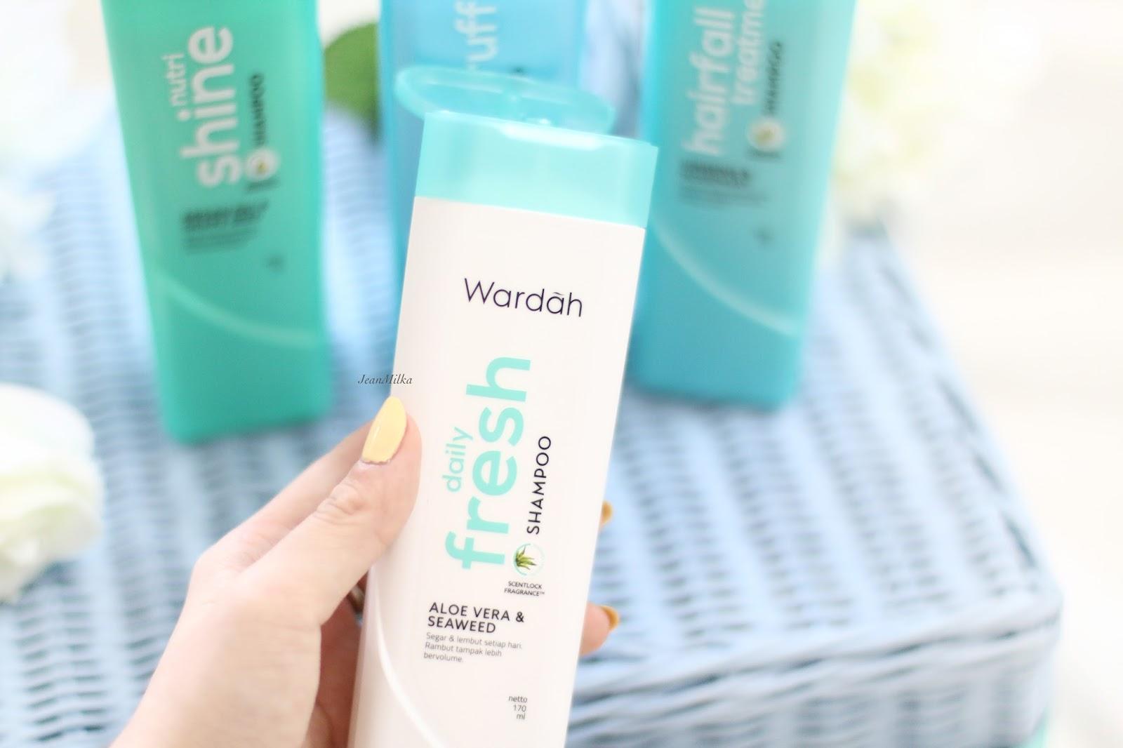 Wardah Shampoo Untuk Semua Masalah Rambut Review Jean Milka Shampo Hijab Sampo
