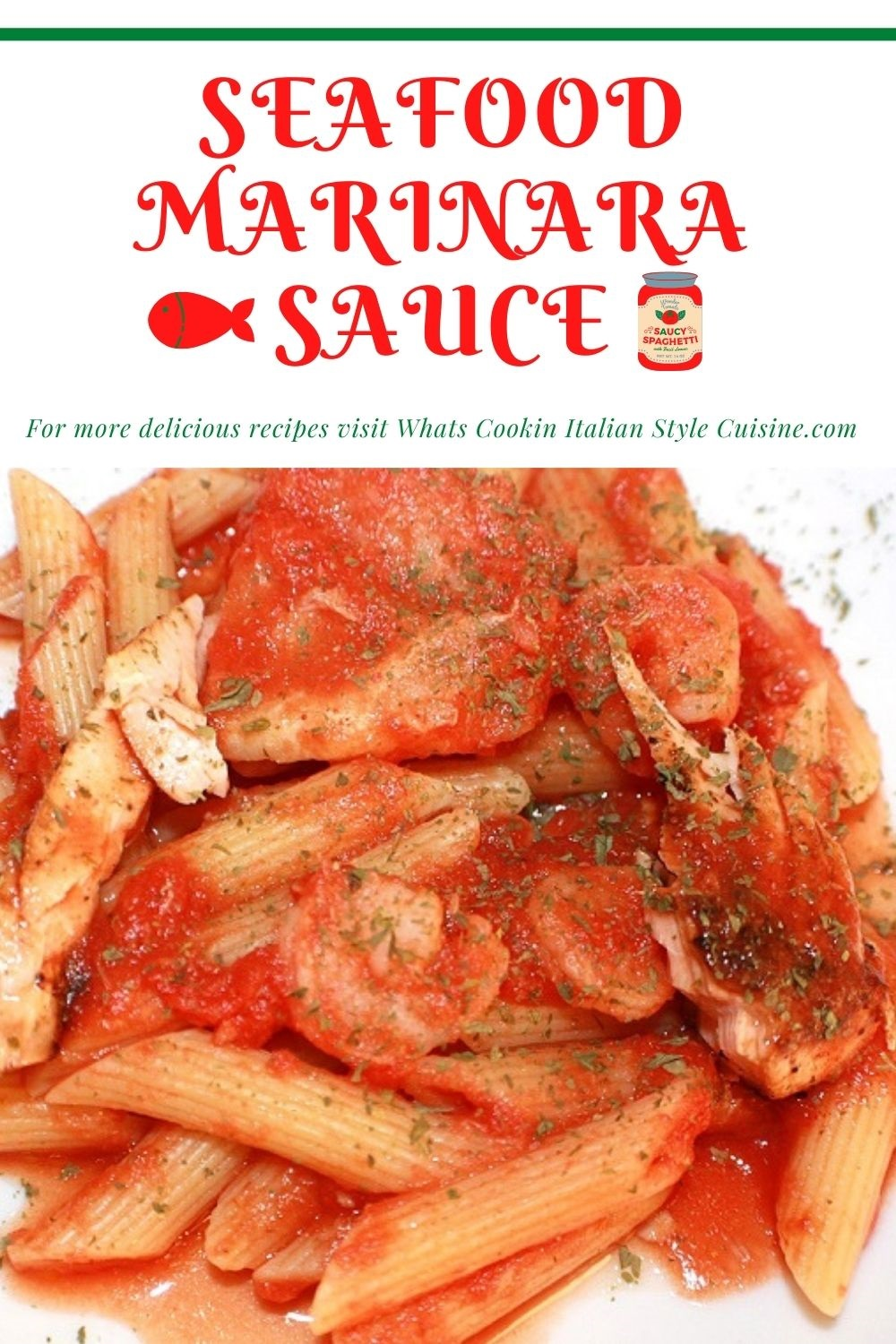 this is a pin for later on how to make marinara seafood