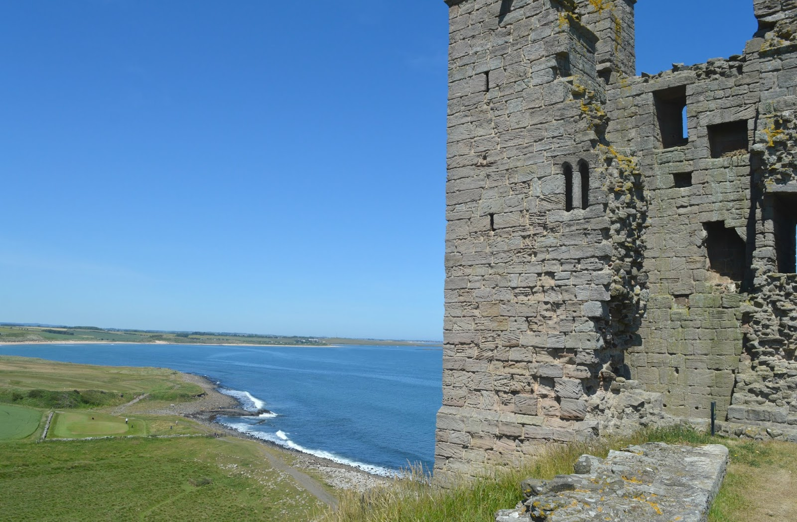 Northumberland Coastal Route - Dunstanburgh