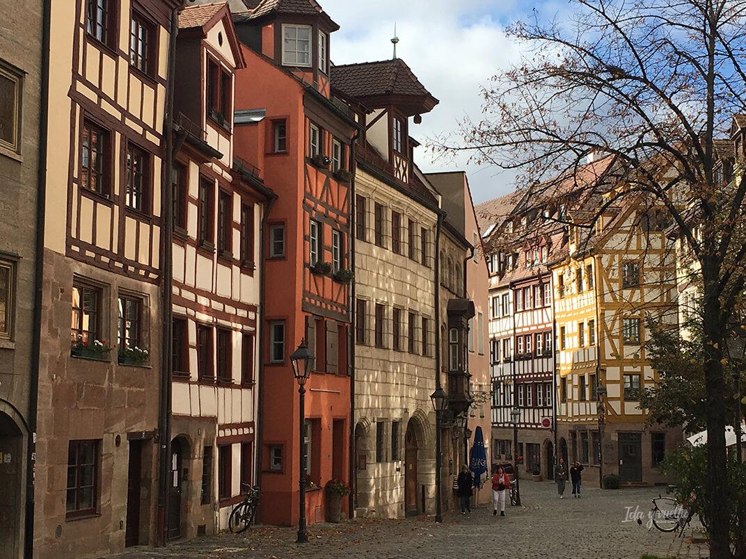 Weissgerbergasse la calle más bonita de Nuremberg