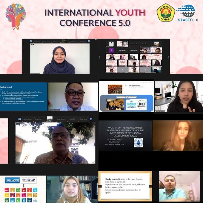 Wakil Rektor 1 Universitas Jember Buka Konferensi Internasional Youth Conference (IYC) 2020
