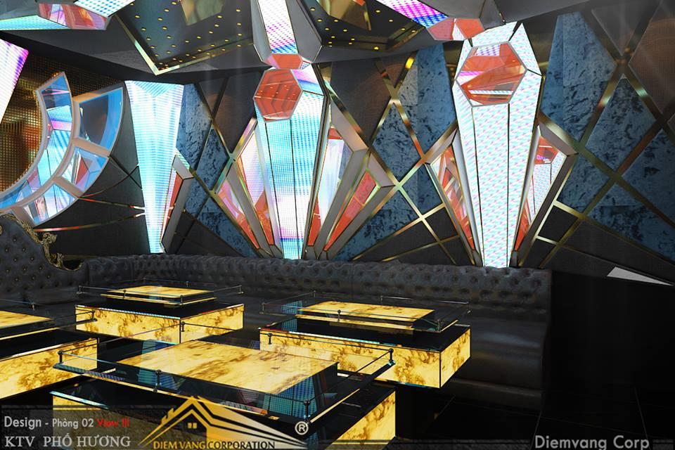 Thiết kế phòng karaoke 3D Ảnh Full chất lượng cao 23