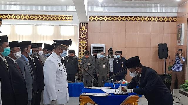 Menjelang Akhir Tahun 2020  Bupati Lampung Utara Roling Pejabat .Guna Penyegaran Tugas