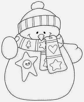 Dibujos navideños para pintar con los niños ~ Mimundomanual