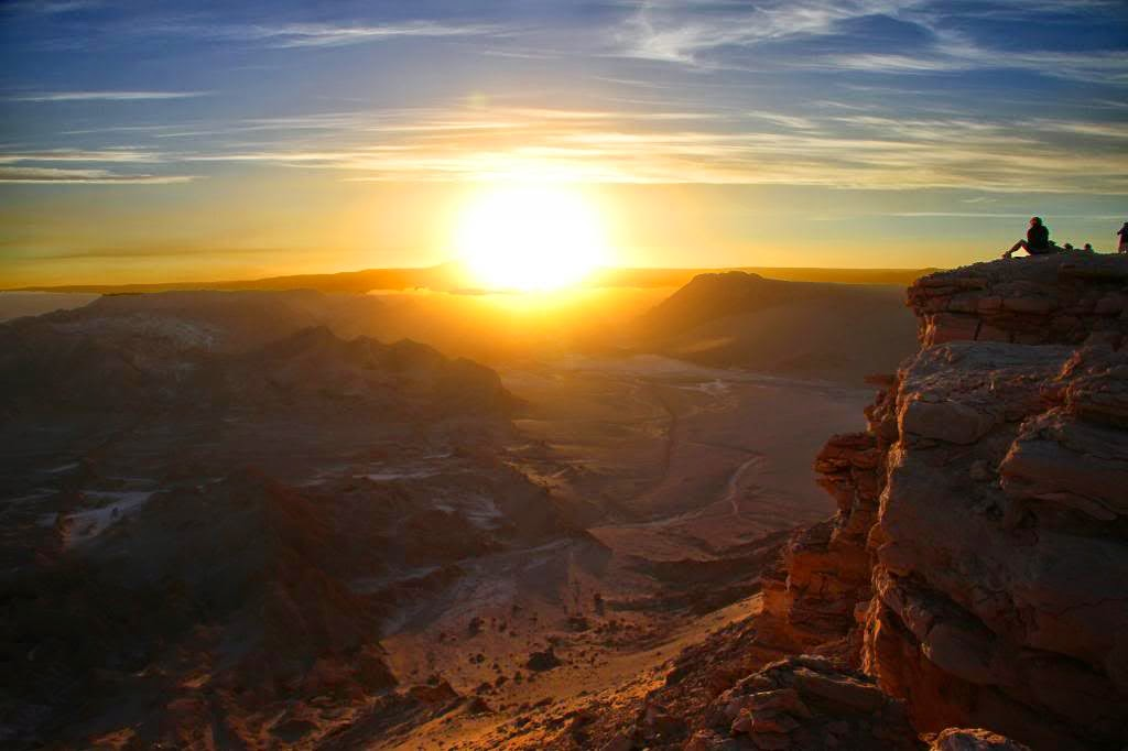 Moon Valley, Chile | 10 Places to See Beautiful Sunset Around The World