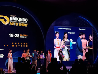 Claudia dari Astra Financial Raih Runner Up Pertama Miss Auto Show