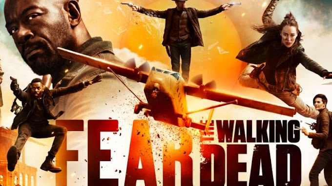 Trailer de la temporada 5 de Fear The Walking Dead. #ComicCon2019