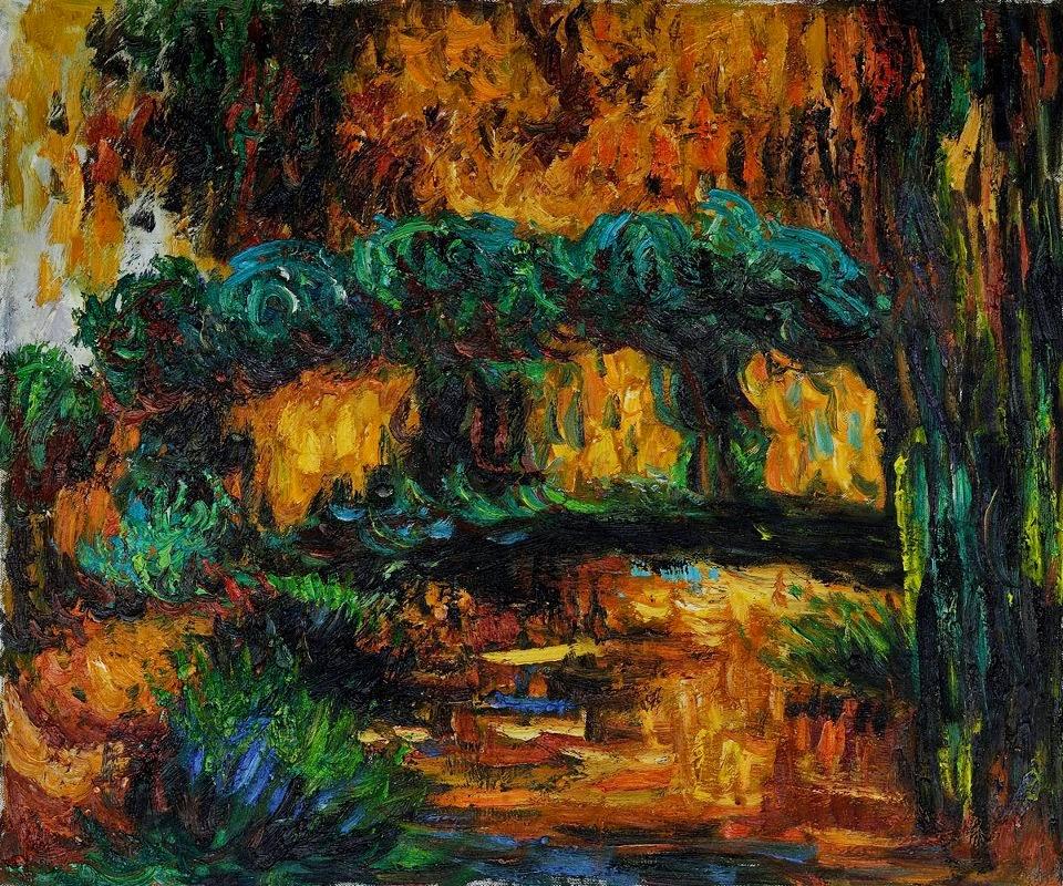Ponte Japonesa - Pinturas de Monet Claude | O Pai do Impressionismo