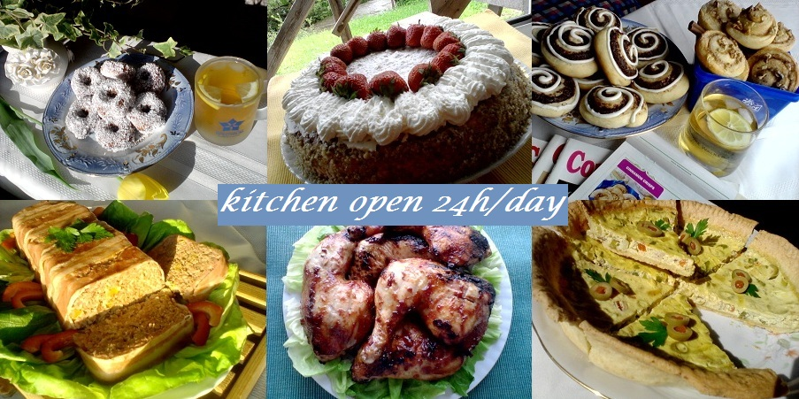 Gabi Naum's kitchen open 24h/day