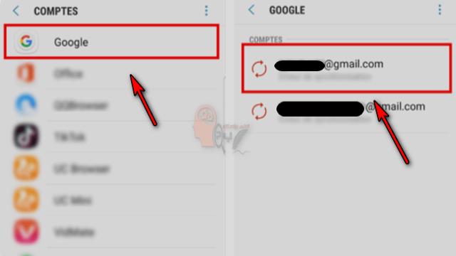 كيفية حذف حساب جوجل بلاي من الهاتف بالصور