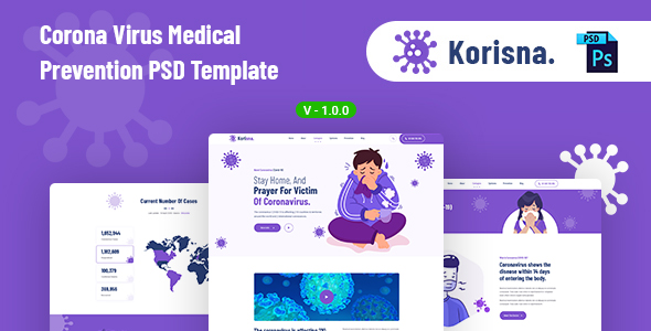 Medical Prevention Website Template