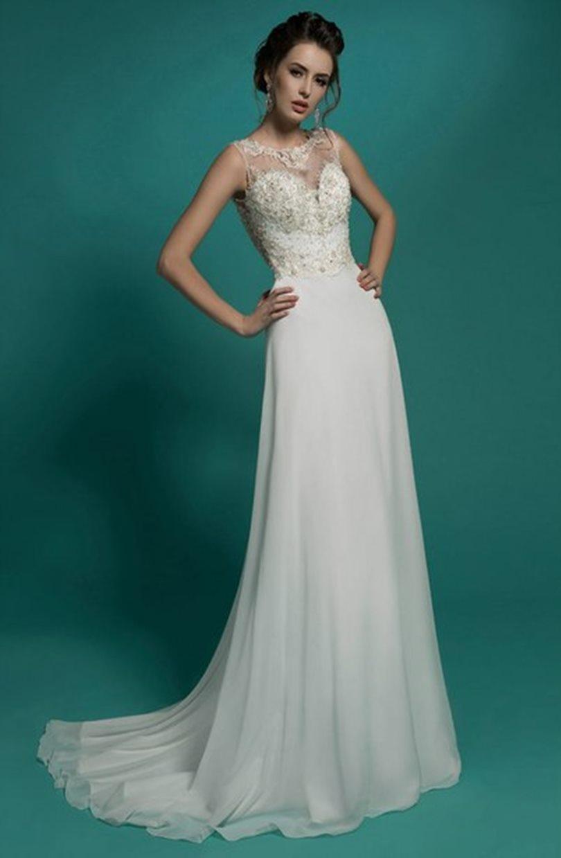 Vestidos de novia sencillos ¡20 MODELOS DE MODA! | Somos Novias