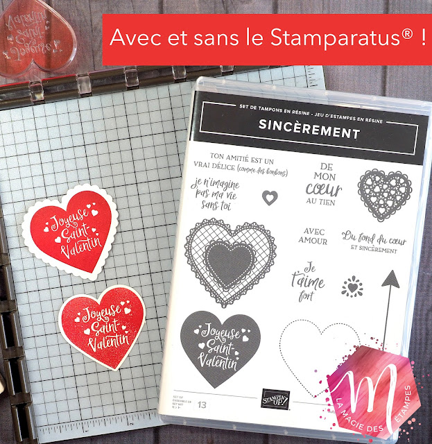 Stamparatus Stampin' Up! misti