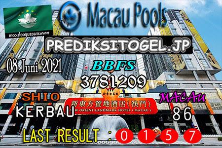 Prediksi Wangsit Togel Macau Selasa 08 Juni 2021