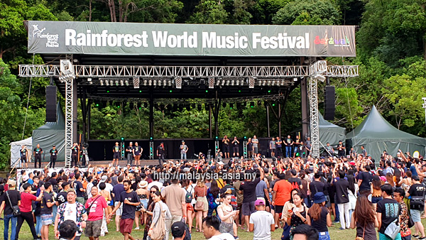 Rainforest Music Festival Postponed