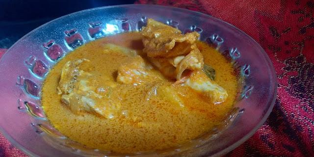 Gulai Ayam Utara Mudah dan Sedap Sangat