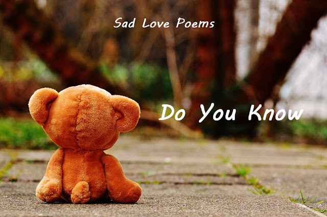Sad Love Poems - Sad Poems in English - FeelLove in - Love