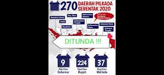 Pilkada Serentak 2020 Ditunda!