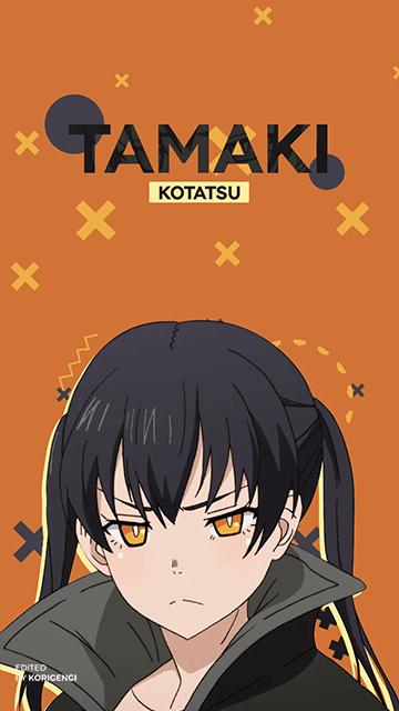 Tamaki Kotatsu - Fire Force Wallpaper
