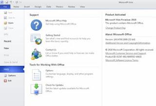 Cara Aktivasi Microsoft Office Visio 2010 versi 32 bit dan 64 bit