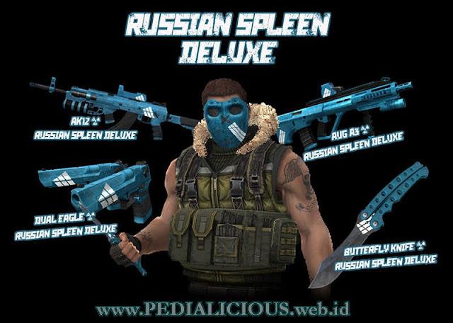 Harga & Statistik Seri Russian Spleen Deluxe Senjata Point Blank
