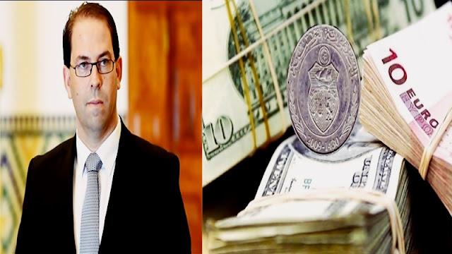 رئيس الحكومة المتخلي يوسف الشاهد سعر صرف الدينار يتعافى لأول مرة بعد سنوات