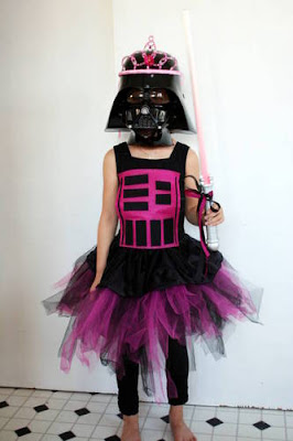 Darth Vader Princess from Craftster