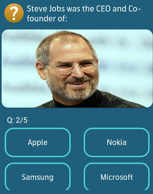 Steve Jobs was the CEO and Co- founder of? MY TELENOR