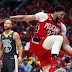 NBA: Davis brilla con 33 puntos y Pelicans se acercan a Warriors