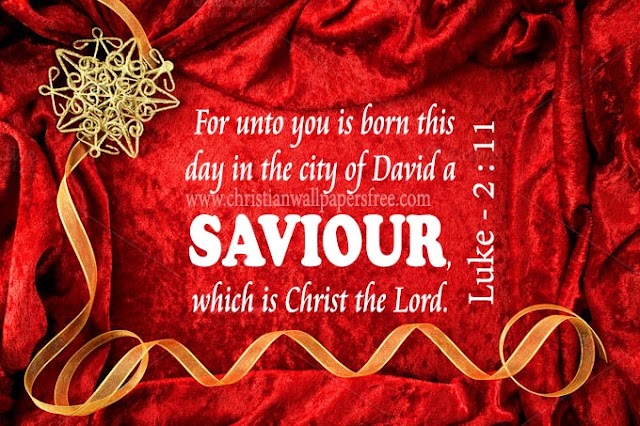 Saviour Christ the Lord has Born Christmas Greetings