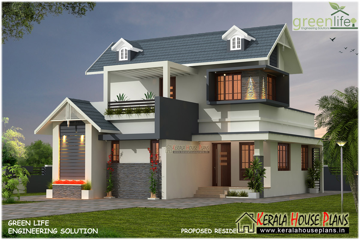 1680 SQFT 3BHK HOUSE DESIGN